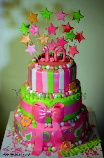stars By habhub23 on CakeCentral.com