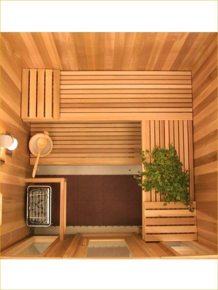 Small Bathroom In Home Saunas 25 Daily Home List Sauna Room Sauna Design Outdoor Sauna