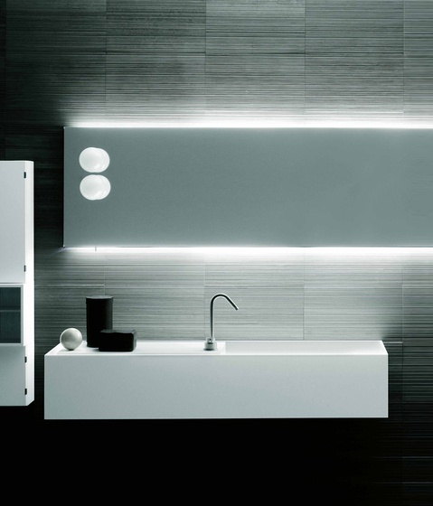 :: BATHROOMS :: Photo Credit: Gallery Zone Bath of Boffi. Designer Piero Lissoni, CRS . Year 2011 . Architonic id 1156160 #bathrooms