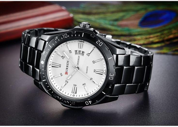 Pánské kovové hodinky černé s bílým ciferníkem + POŠTOVNÉ ZDARMA Na tento produkt se vztahuje nejen zajímavá sleva, ale také poštovné zdarma! Využij této výhodné nabídky a ušetři na poštovném, stejně jako to udělalo již …