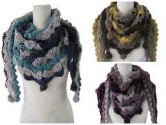3 stuks grof gebreide sjaals http://www.partij-specialist.nl/