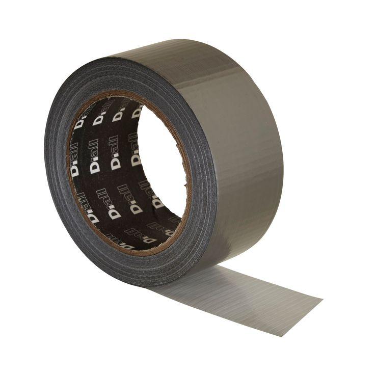 B&Q Silver Cloth Gaffer Tape (L)25m | Departments | DIY at B&Q