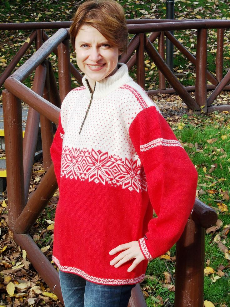 Lovely sweater by Norwool, Norway.