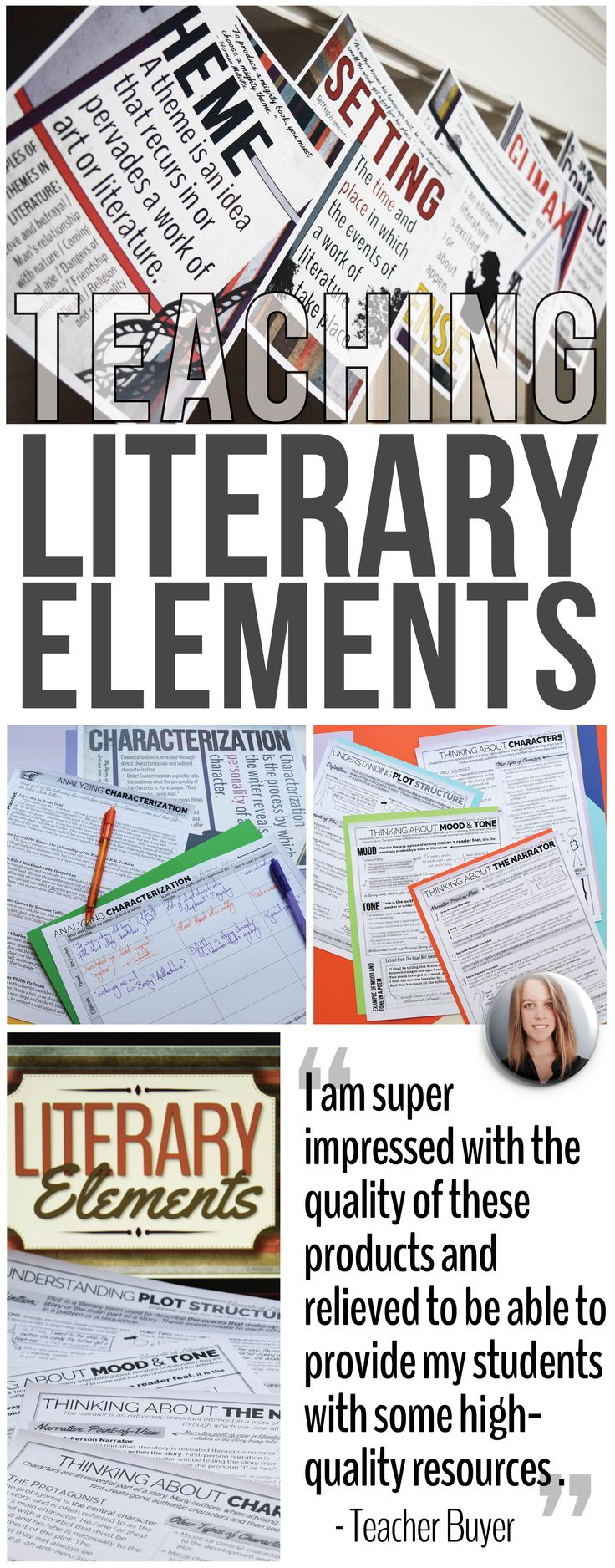 literary elements used in novels The literary quality of a fictional book is based not upon its popularity or the ease  with  terms are ones which should be understood and used in discussing the  literary elements please note that these elements apply only to fiction books.
