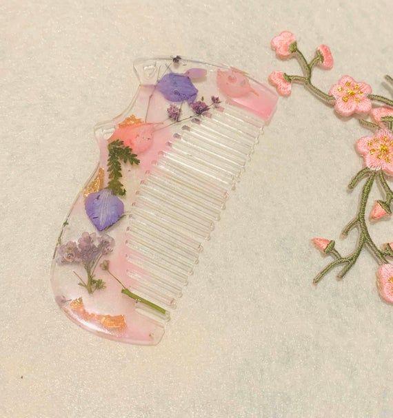 cute rose gold handmade pink silver gold Resin flower hair clip gift| pretty barrettes blue orange white