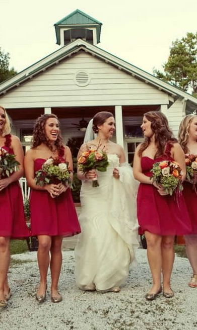 Rustic Fall South Carolina Wedding