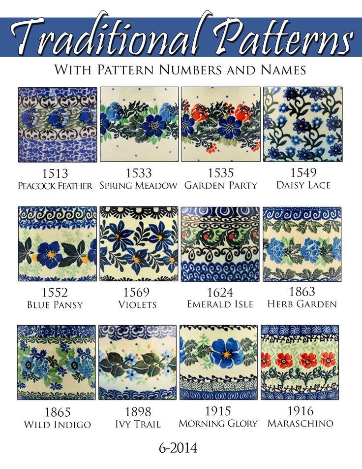 polish pottery - Google Search