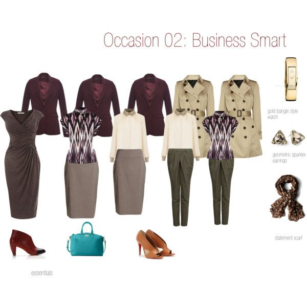 """DA/DC Business smart"" by orgidee on Polyvore"