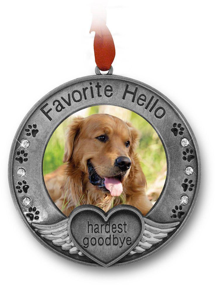 Pet Memorial Picture Ornament(2854) Pet remembrance, Pet