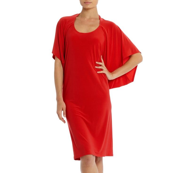 Tilda dress with sleeve detail