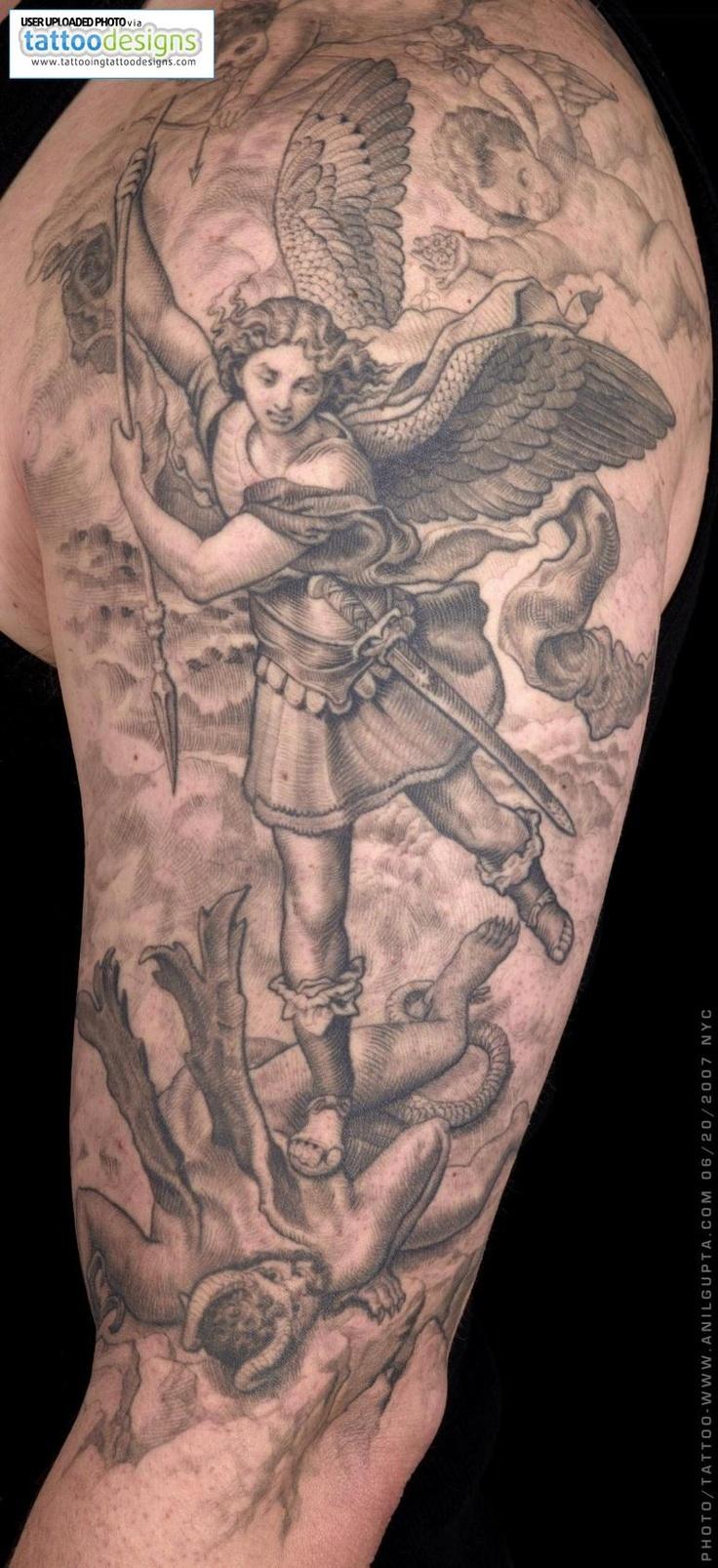 Archangel Michael Tattoos: St-michael-the-archangel