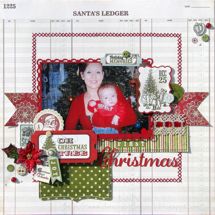 First Christmas *My Creative Scrapbook* - Scrapbook.com