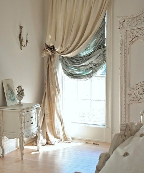 Beautiful window drapes