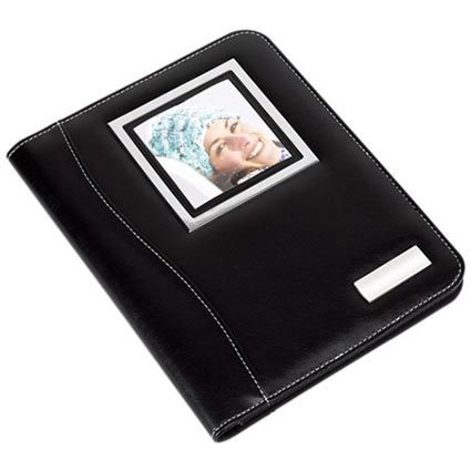 Promotional Aristo A5 Conference Files are a smart multi functional folder with white seams on the outside creating a sleek finish. From £6.84: Conference Files