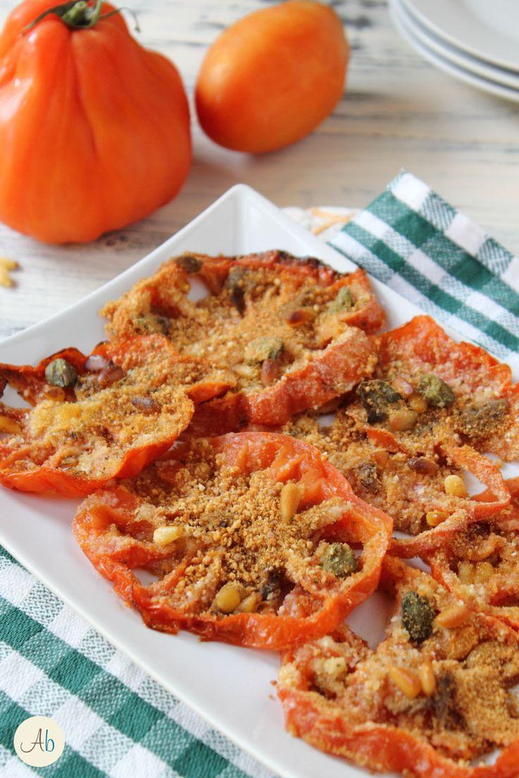 Pomodori Gratinati Acciughe e Pinoli | Aryblue