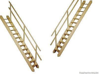Raumspartreppe Fichte Holztreppe Bodentreppe Treppe in Treppen   eBay