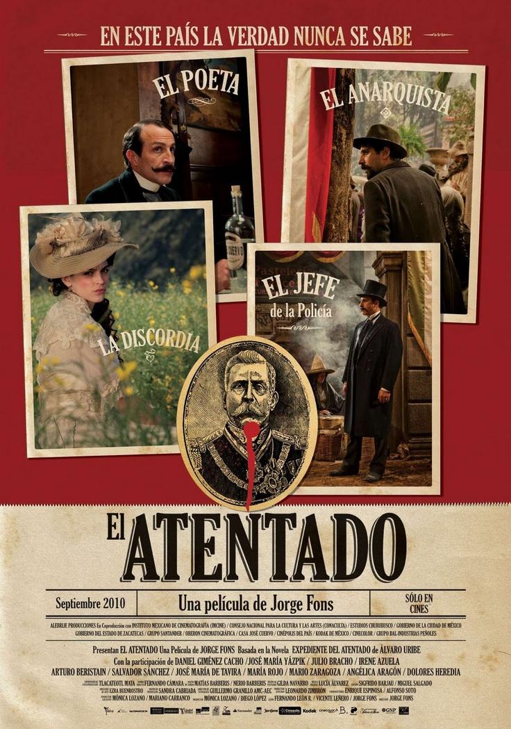 El Atentado: Daniel Giménez Cacho, Julio Bracho, Dolores Heredia, José María de Tavira,