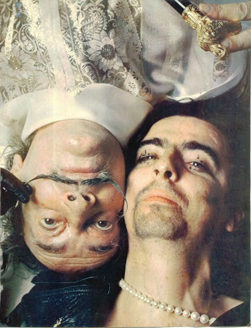 Salvador Dalí & Alice Cooper, 1973.  I cannot begin to tell you how much I love this.