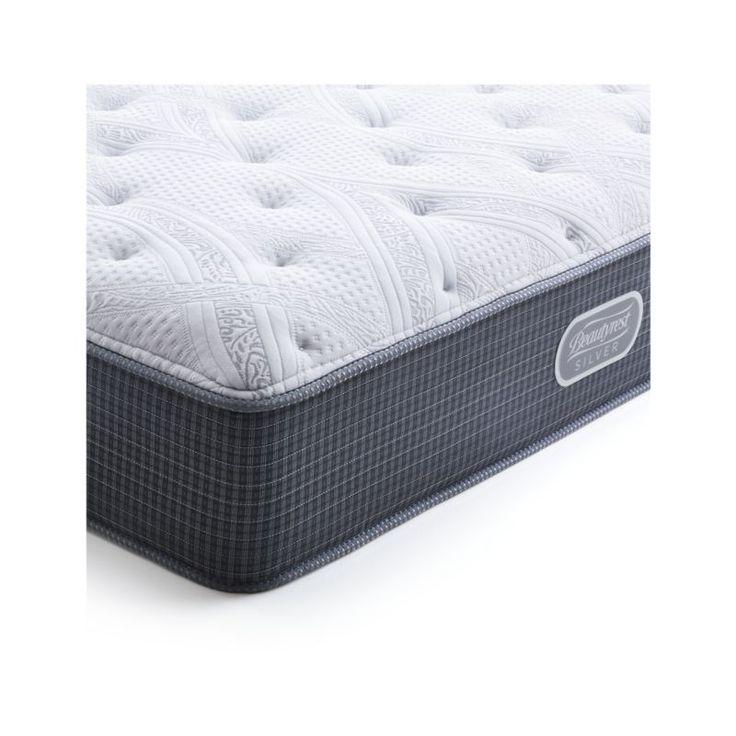Simmons® California King Beautyrest® Silver™ Plush Mattress