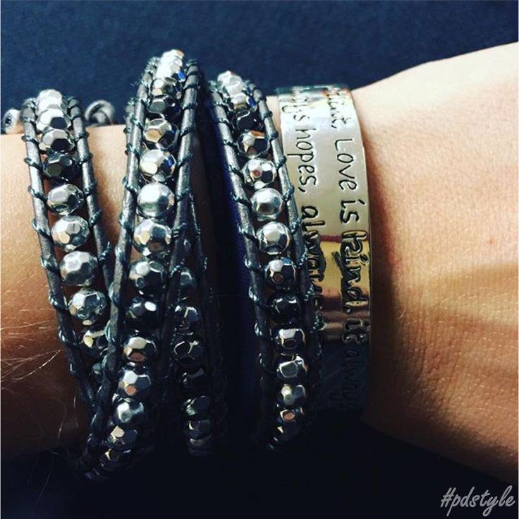 It's A Wrap 44. 5860 and Love Cuff 29. 5533 Premier Designs #pdarmparty #premierdesigns #premierjewelry