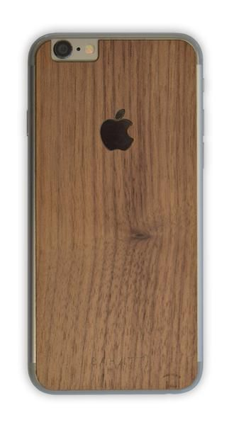 Funda de madera para iPhone WALNUT. Madera natural de nogal americano cortada a medida para tu Mac. Cada unidad es diferente, personal y única. GLASIR iPhone natural wooden cover for #iPhone4 #iPhone4s #iPhone5 #iPhone5s #iPhone6 #iPhone6s #iPhone6splus #iPhone6plus Every cover is original and every cover is different, get your  sahatt style whit these covers.
