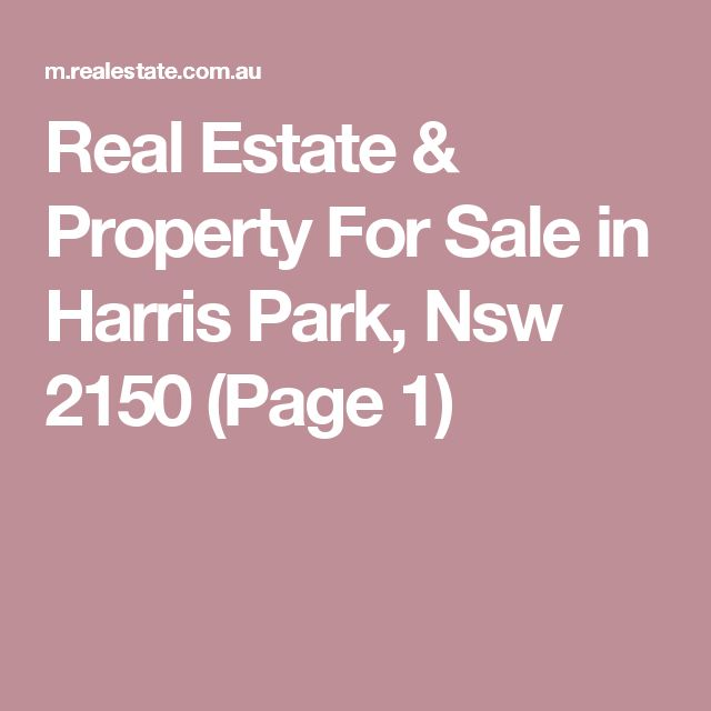 Real Estate & Property For Sale in Harris Park, Nsw 2150 (Page 1)