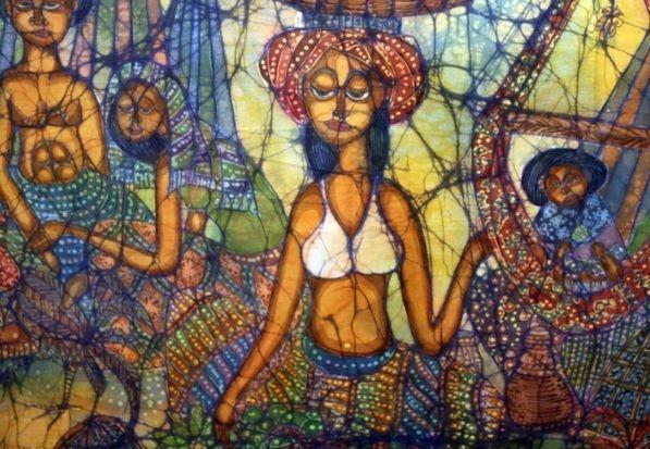 Batik, eine textile Kunstform in Malaysia und ein wunderschönes #Malaysia #Souvenir