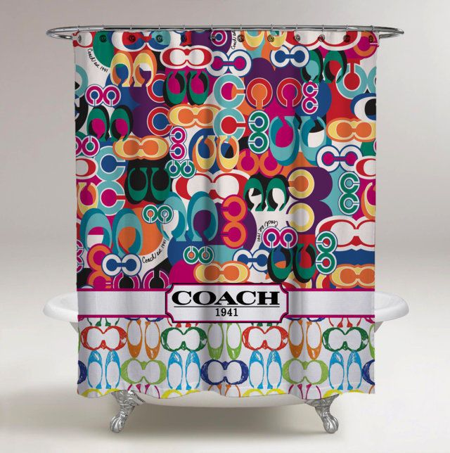New Best Rare Coach Colorful Logo Custom Shower Curtain 60 x 72 Limited Edition #Unbranded #Modern #fashion #Style #custom #print #pattern #modern #showercurtain #bathroom #polyester #cheap #new #hot #rare #best #bestdesign #luxury #elegant #awesome #bath #newtrending #trending #bestselling #sell #gift #accessories #fashion #style #women #men #kid #girl #birthgift #gift #custom #love #amazing #boy #beautiful #gallery #couple #bestquality #coach #colorful #logo