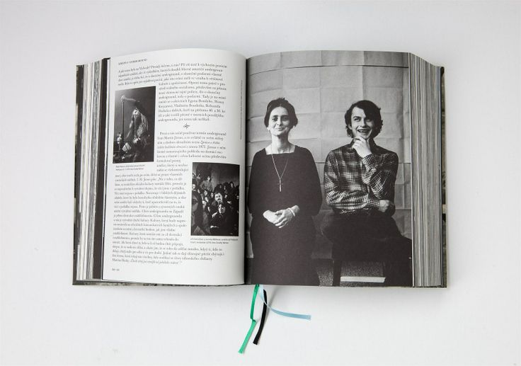 "My Grandma & Filip Topol (1985) in the ""Kmeny 0"" book / photo by Ivan Pinkava (photo of her by me is here – http://www.pinterest.com/pin/49469295876982333/)"