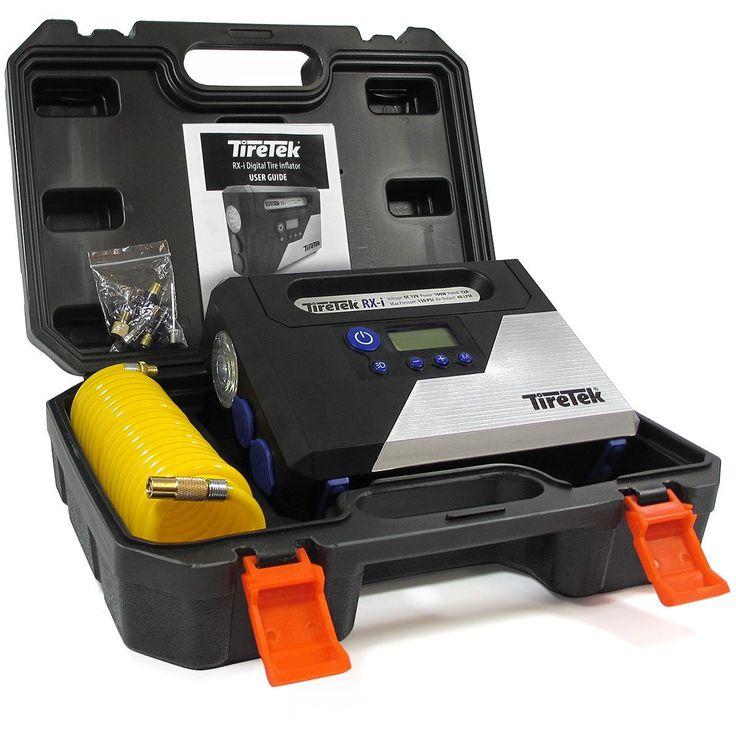 AmazonSmile: TireTek RX-i Digital Tire Inflator Pump - 12V 160W Portable Air Compressor 40LPM With Auto Cut-Off: Automotive