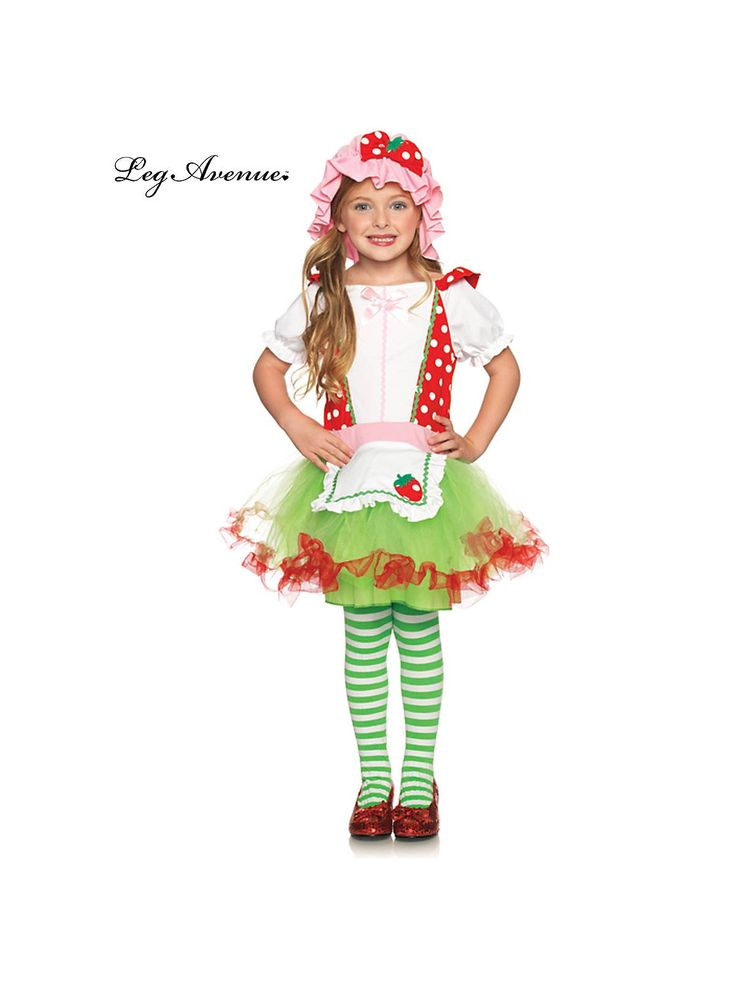 Strawberry Sweetie Costume   Wholesale Strawberry Shortcake Costumes for Girls