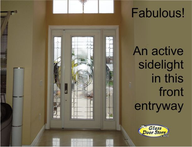 Single Front Doors single front door that opens like a double door has an active