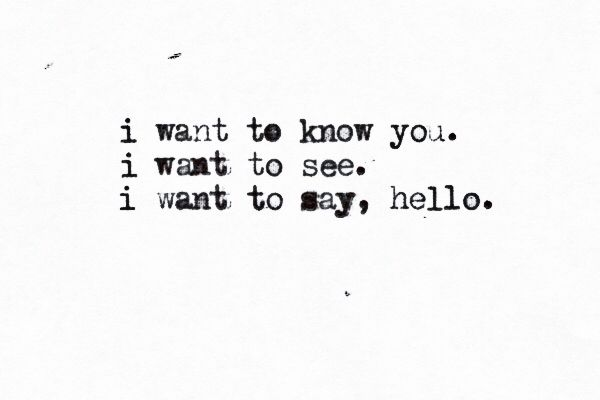 "Screen by Twenty One Pilots - ""I want to know you. I want to see. I want to say, hello."""