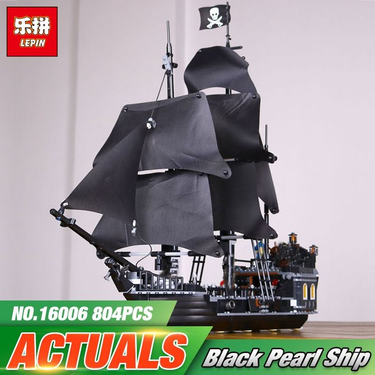 42$  Buy here - 2017 New LEPIN 16006 Pirates of the Caribbean The Black Pearl Building Blocks Educational Funny Set 4184 Toy For Children   #magazineonlinebeautiful
