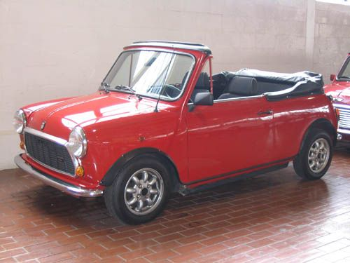 Austin Mini Convertible- 1969 | This summer's must have car!