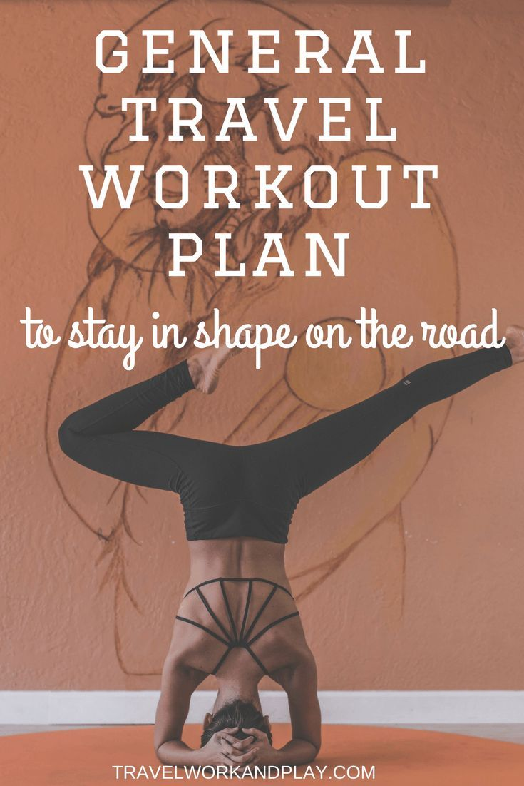 Travel fitness part II: How to stay in shape on the road. This is the general travel workout plan to help you stay fit while travelling. Going to miss the gym or the track while you're backpacking? Read on to find out how to work out without equipment whi
