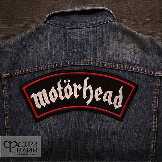 Big Back Patch Motorhead logo