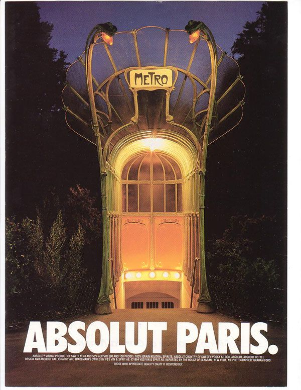 Absolut Paris