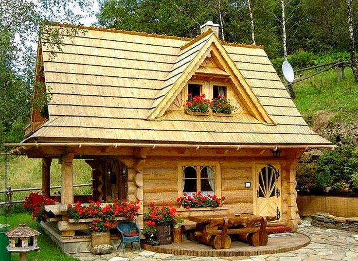 Cabana de vis cu 3 camere – proiect detaliat