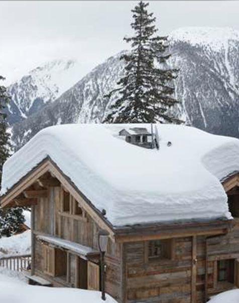"""cassandreetquentin: """" Alpine chalet /Martine Haddouche/ """""""