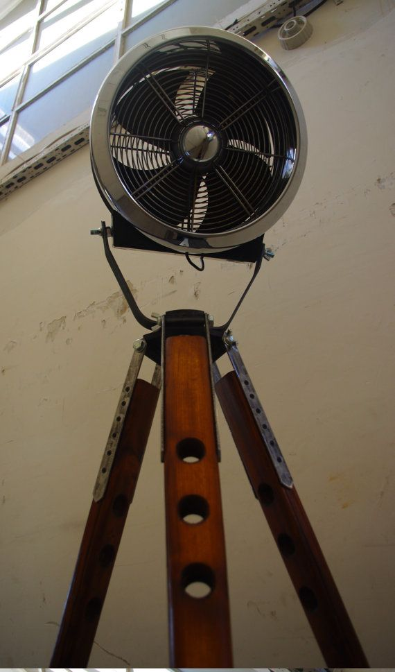 Old fan on a stand