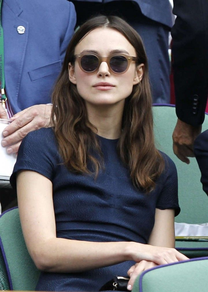 Keira Knightley I think I'll always love her even if she is probably only a shallow English rose
