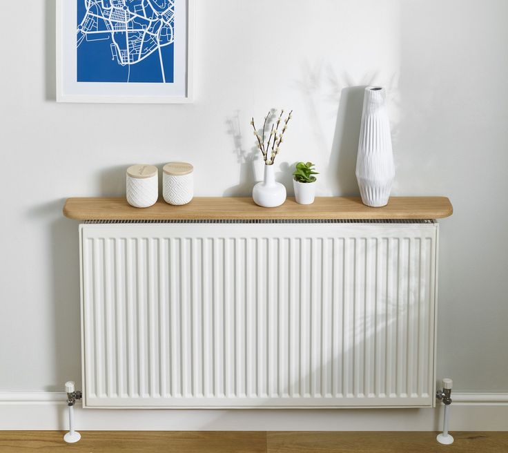 OAK RADIATOR SHELF (20x95mm) FLOATING/SOLID OAK