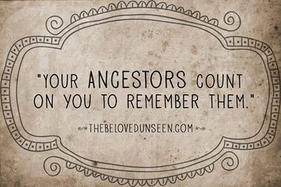 """""""Your ancestors count on you to remember them."""" ...so research and record your family genealogy!"""