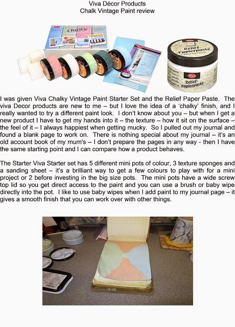 Personal Impressions Blog: Viva Decor Chalk Vintage Paint Review