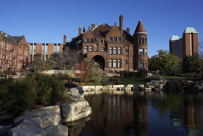 Samuel Cupples House & Gallery : Saint Louis University Cupples House : Romanesque style