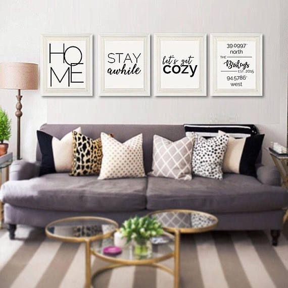 Home coordinates print | Pinterest