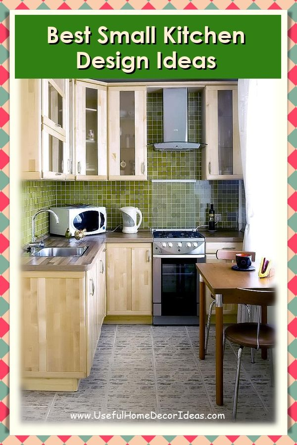 Ideas To Design A Small Kitchen With Nice Style Small Kitchen Decor Small Kitchen Kitchen Design Small