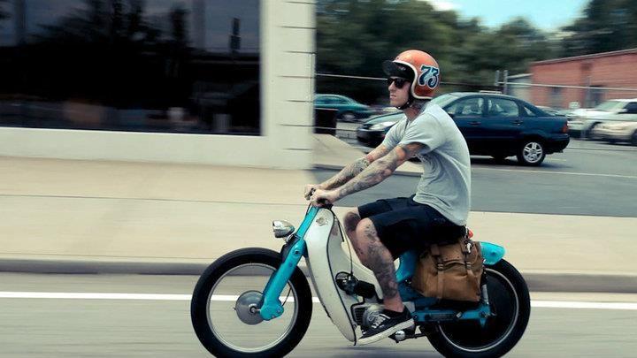 cool Honda cub