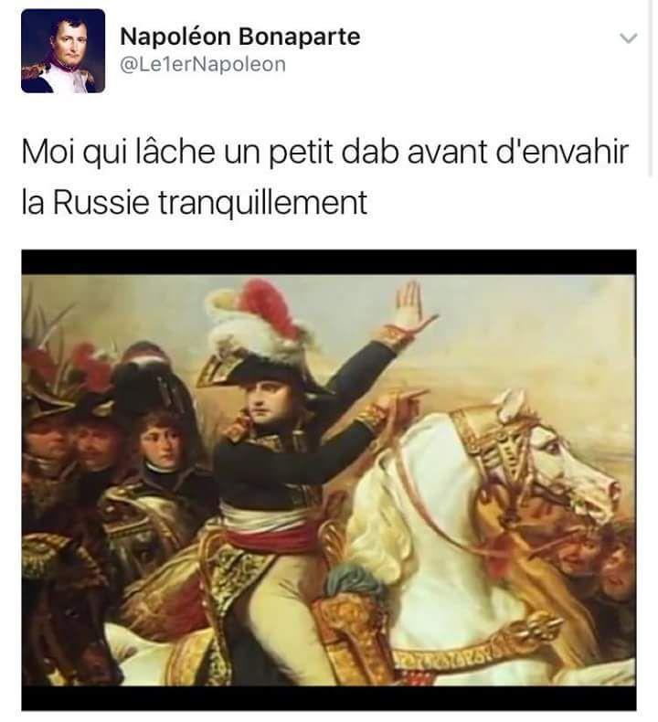 Napoléon a lâché du gros tweet http://www.15heures.com/photos/bnnba #OMG